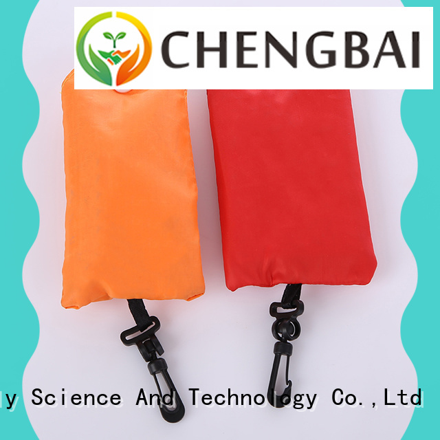 Chengbai printed polyester tote bags sublimation Supply for packing