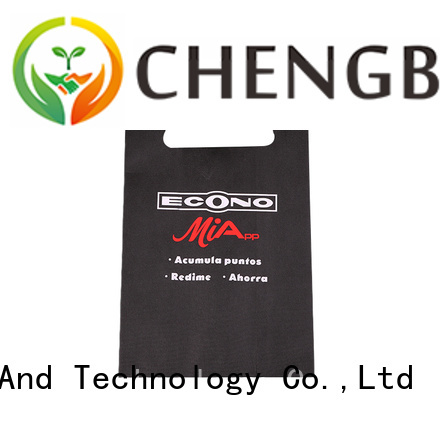 Chengbai small pp woven bags recycling factory for shopping