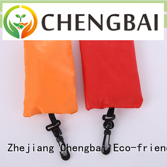 Chengbai Best reusable polyester shopping bags Suppliers for daily necessities