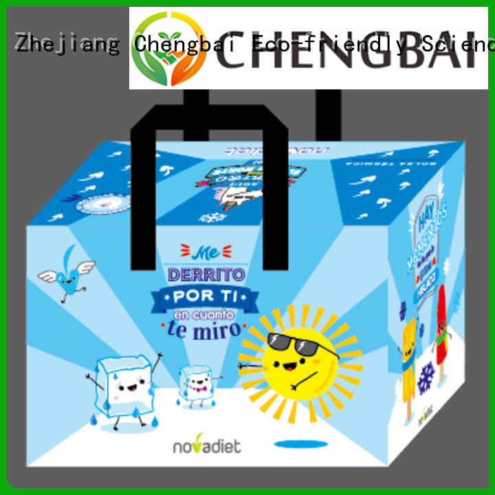 Chengbai custom logo print promotional cooler bags one-stop service supplier for packing