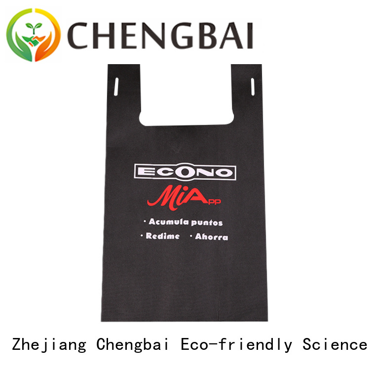 Chengbai tote woven grocery bags factory for advertising