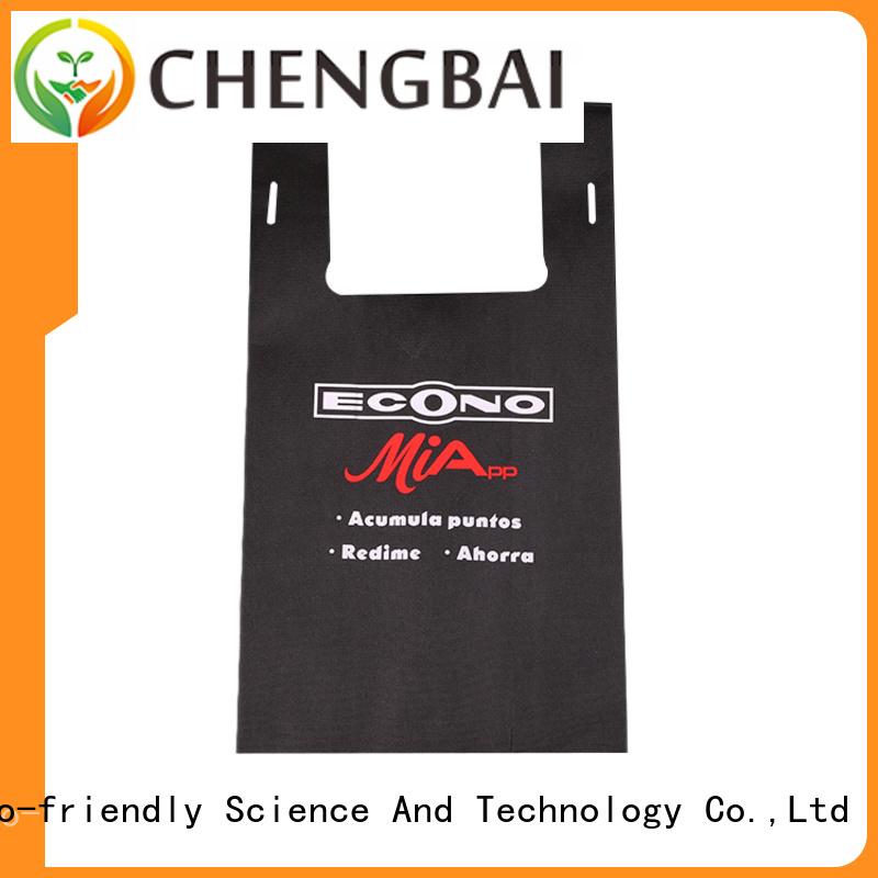 Chengbai tote non woven reusable bags wholesale bulk purchase for shopping