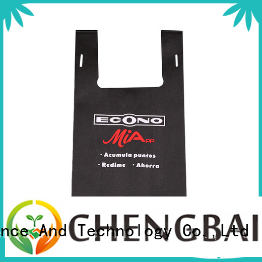 Chengbai customized non woven bag singapore wholesale for packing