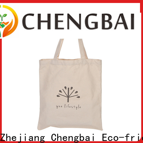 Chengbai fashion cotton gift bags manufacturers for daily necessities