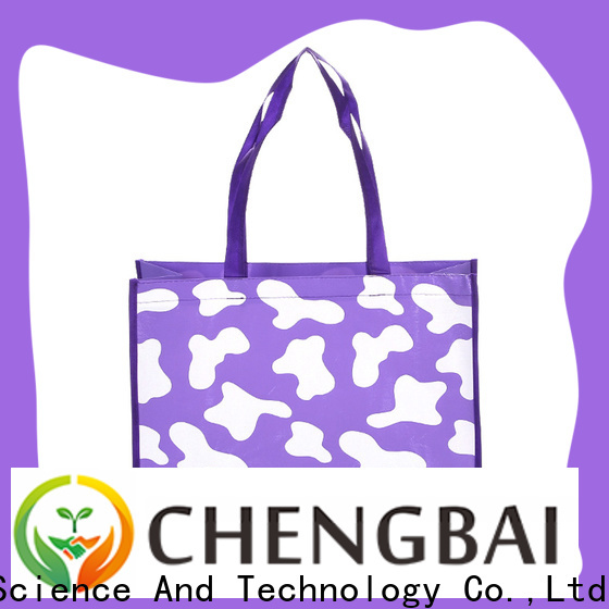 Chengbai raw personalised woven bag request for quote for promotion