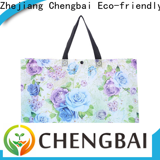 Chengbai recycled white non woven bag bulk purchase for packing