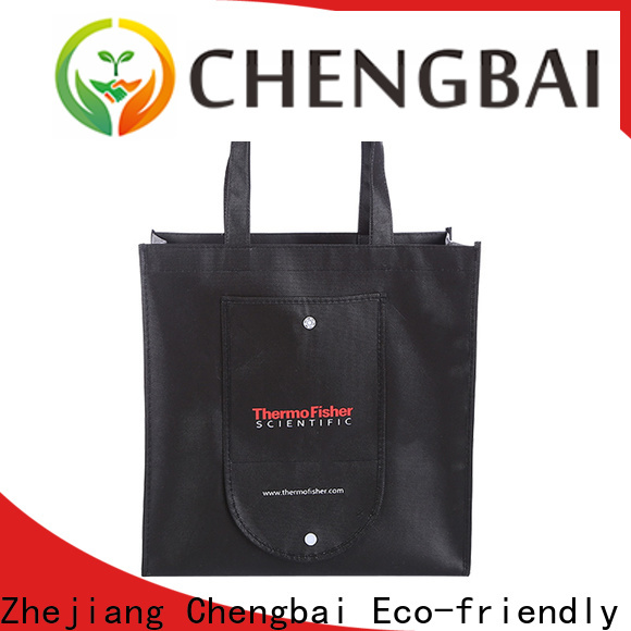 Chengbai raw woven eco bag awarded supplier for advertising