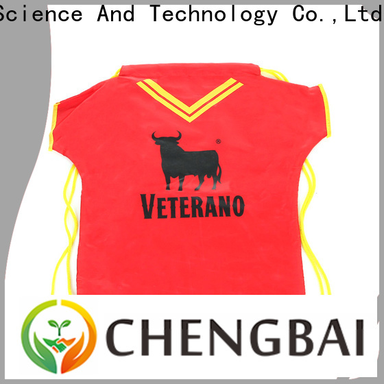 Chengbai Latest polyester shopping bag from China for promotion