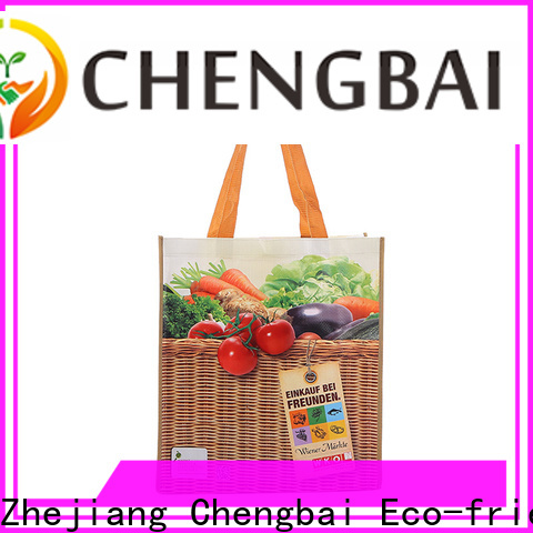 Chengbai waterproof laminated pp woven bag great deal for packing