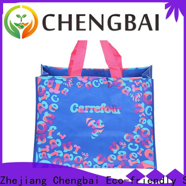 Chengbai Custom PP woven shopping bags OEM ODM for packing