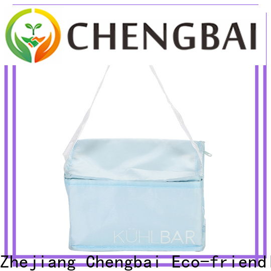 Chengbai custom logo print personalized cooler bag source now for packing