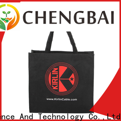 Chengbai durable wholesale canvas bags international market for gift