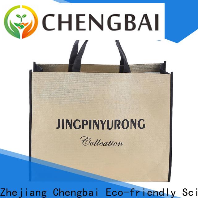 Chengbai New cheap non woven shopping bags awarded supplier for shopping