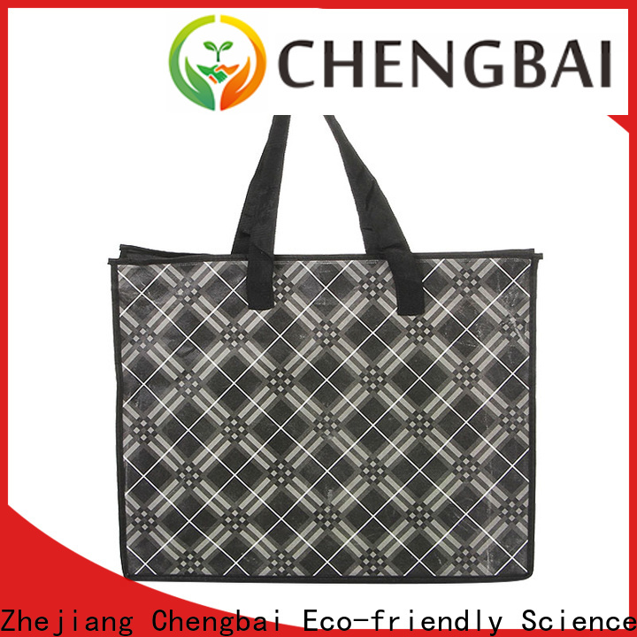 Chengbai logo fashion tote bag manufacturers for daily necessities