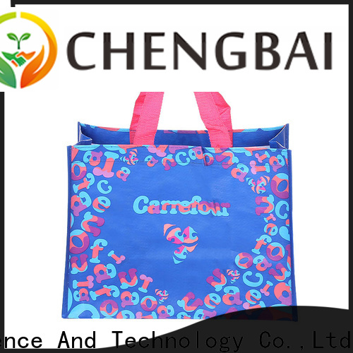 Chengbai size what is pp woven bag for business for daily necessities