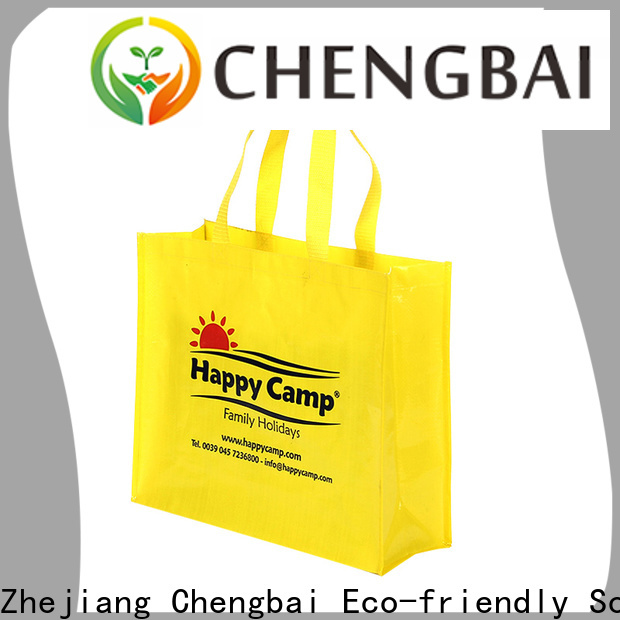 Chengbai eco-friendly pp woven bags company for daily necessities