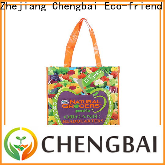 Chengbai woven pp laminated pp woven bags factory for packing