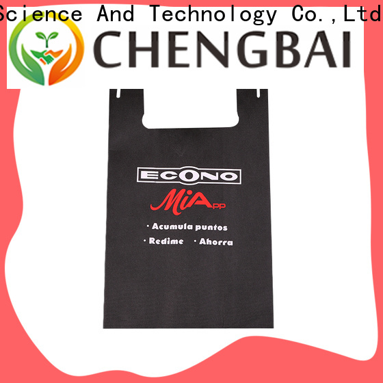 Chengbai custom non-woven bags leading manufacturer for daily necessities