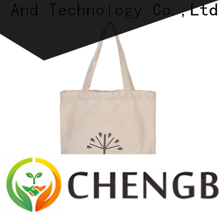 Chengbai bags custom printed canvas bags for business for packing