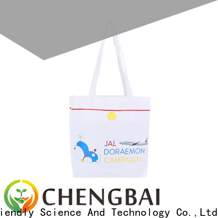 Chengbai wholesale cotton tote bags factory for daily using