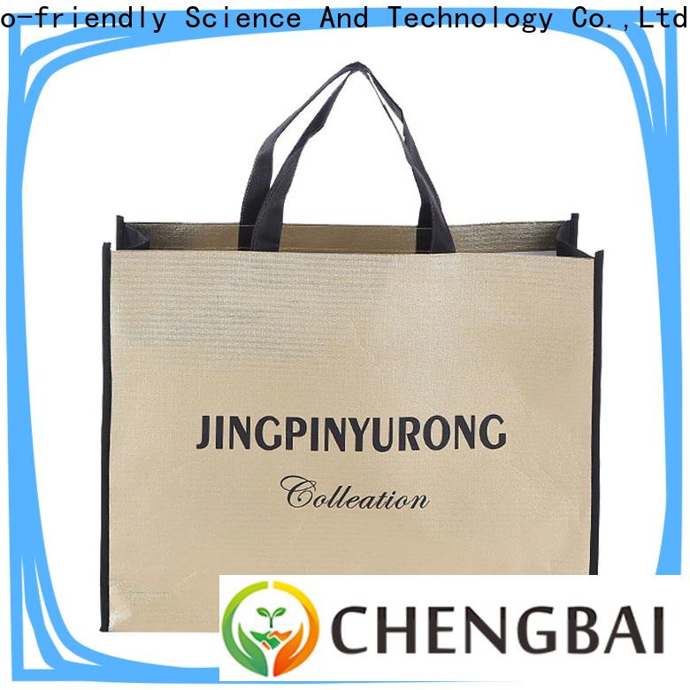 Chengbai reusable non woven shopping bag manufacturers wholesale for advertising
