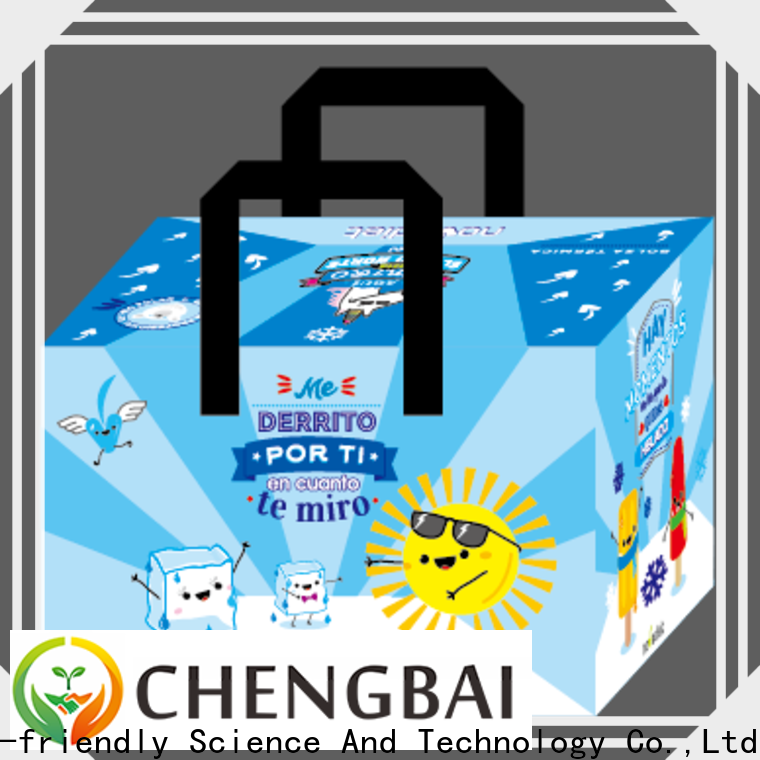 Chengbai High-quality canvas cooler bag fast delivery for packing