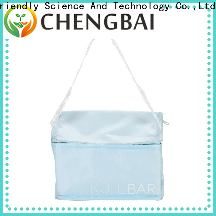 low moq insulated cooler tote bags zipper fast delivery for packing