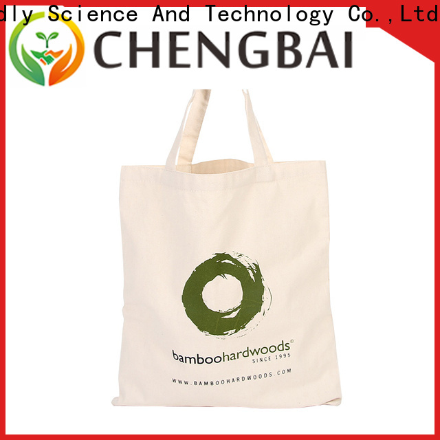 Chengbai print cotton tote company for daily using