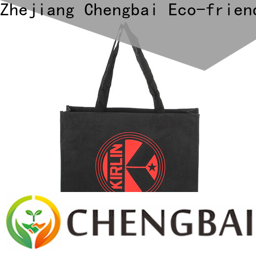 Chengbai recycled reusable cotton bags Supply for daily using