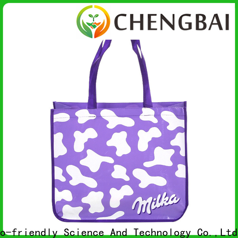 Chengbai fabric large woven bag bulk purchase for shopping