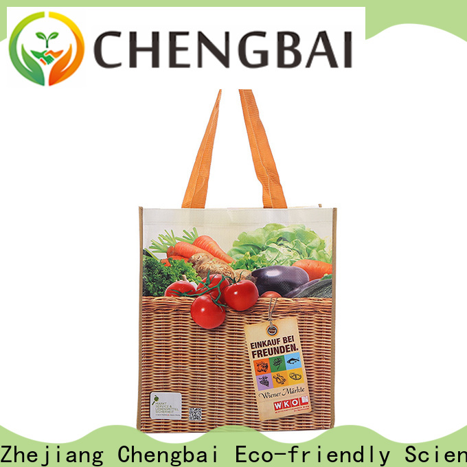 Custom pp woven shopping bag bag Suppliers for packing