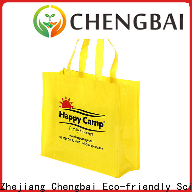 Chengbai Custom pp woven fabric bags Suppliers for daily necessities