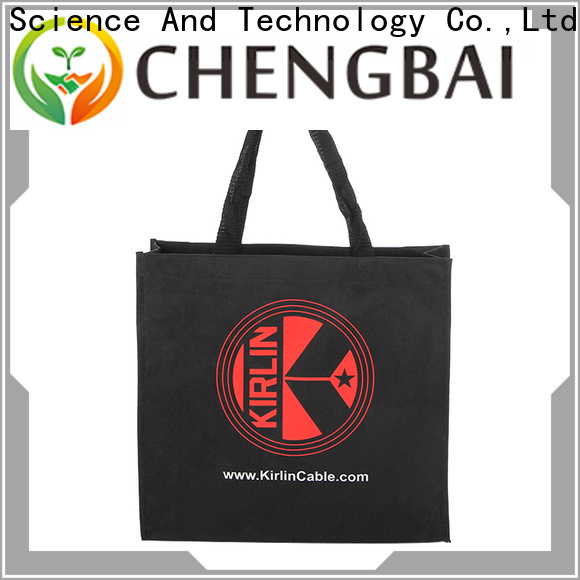 Chengbai print cotton grocery bags manufacturers for daily necessities