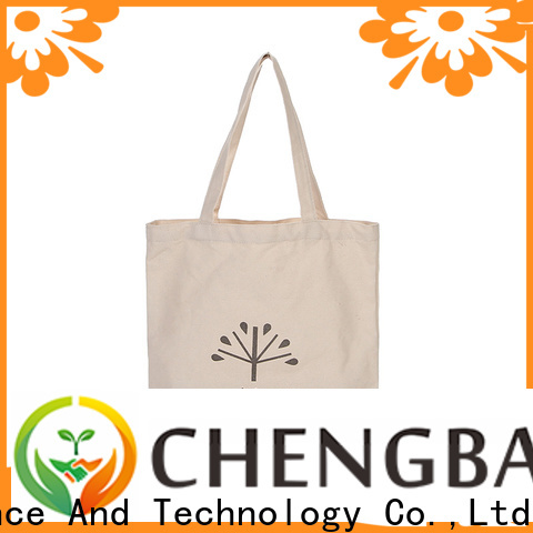 Chengbai hot selling cotton tote bags international market for daily necessities