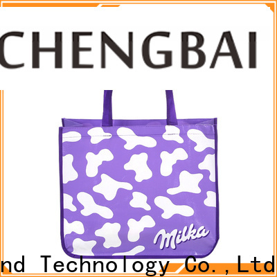 Chengbai industrial non woven promotional bags awarded supplier for advertising