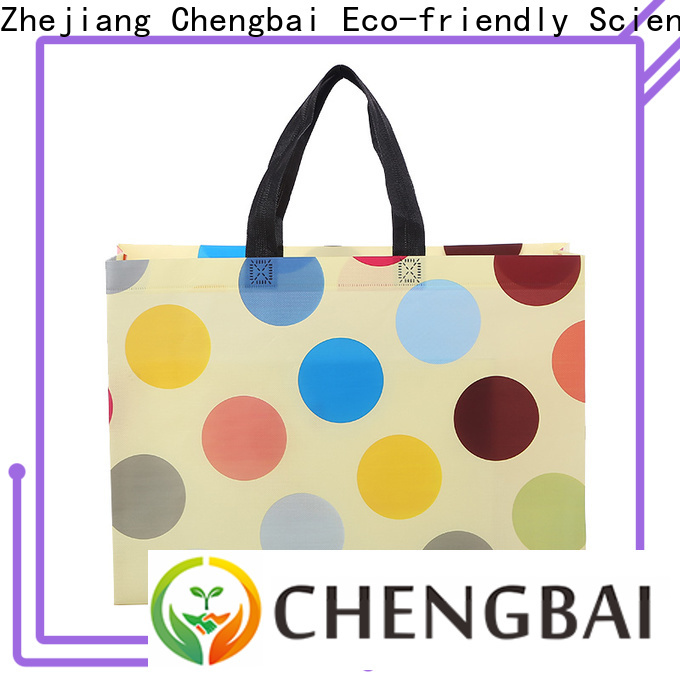 High-quality non woven bag printing tote wholesale for shopping
