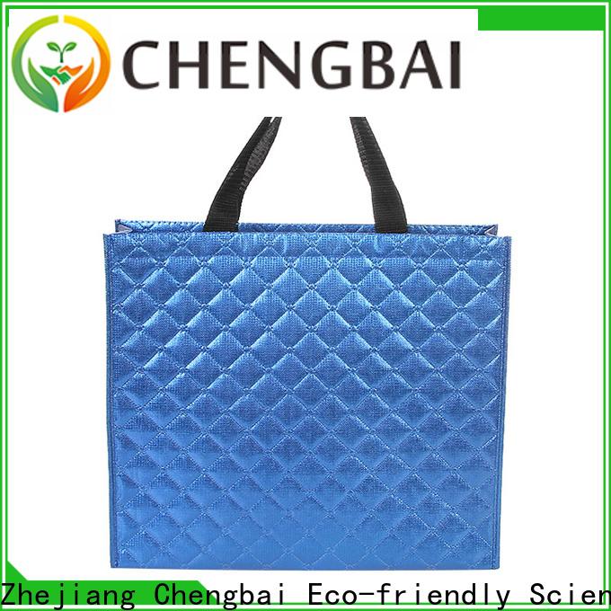 Chengbai durable non woven u cut bag factory for packing