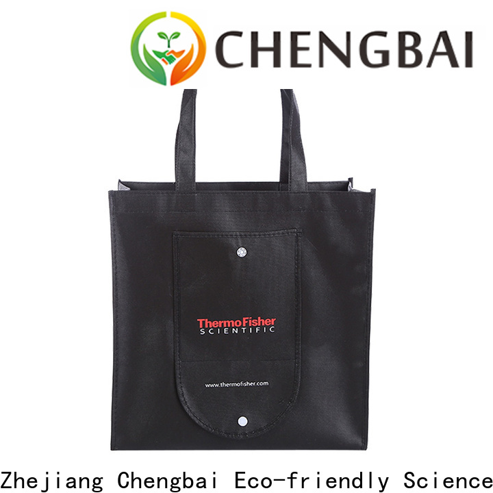 Chengbai portable non woven bags project cost factory for promotion