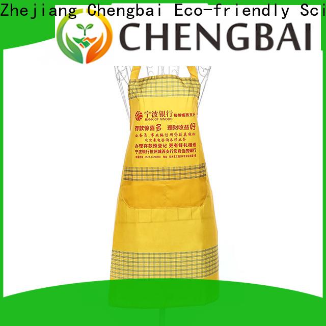 Chengbai apron non woven apron company for packing