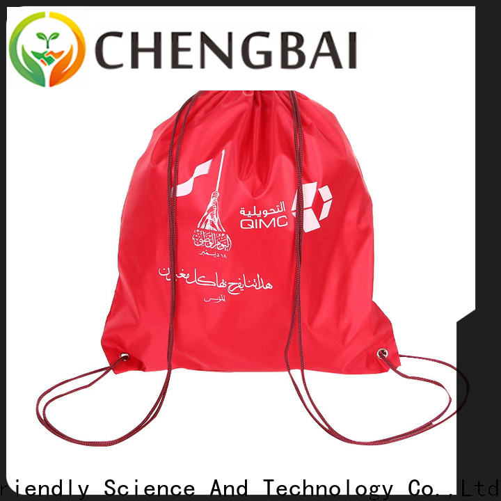Chengbai fashion polyester shopping bags manufacturers for advertising