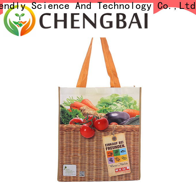 Chengbai Wholesale laminated pp woven bag Suppliers for packing
