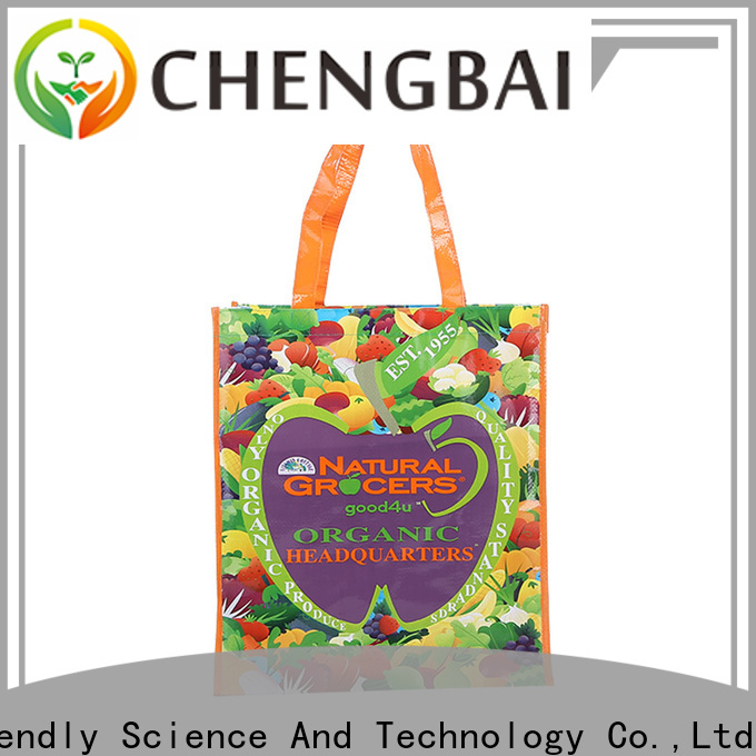 Chengbai handle pp woven bag Suppliers for packing