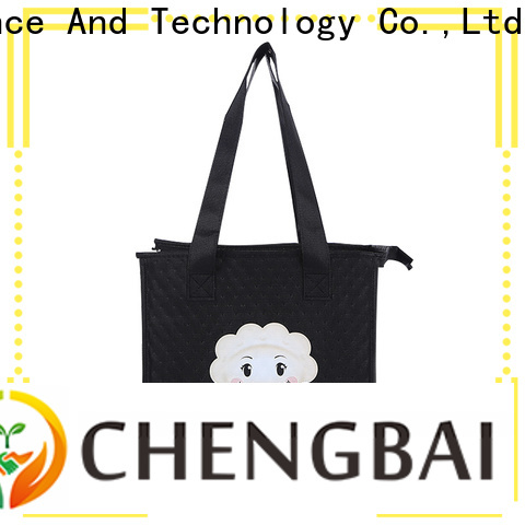 Chengbai low moq promotional cooler bag fast delivery for daily necessities