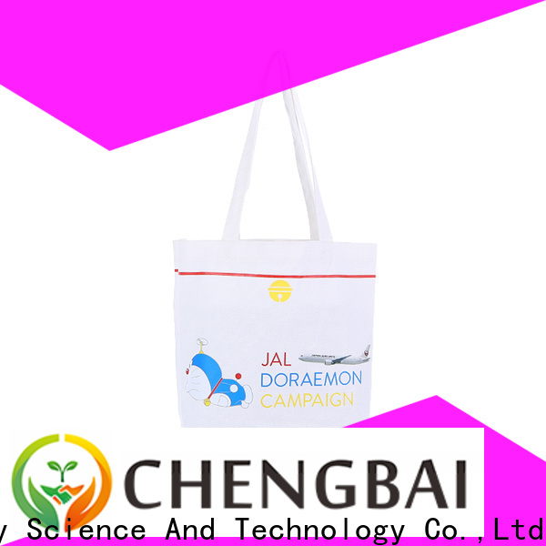 Chengbai white canvas tote Suppliers for packing
