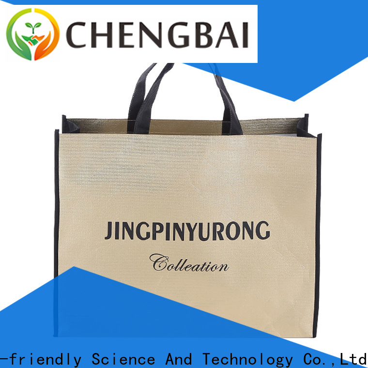 Chengbai tote non woven carry bags online wholesale for shopping