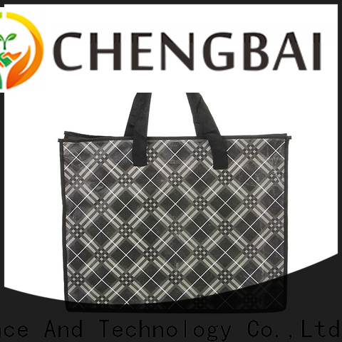 Chengbai style reusable shopping bags wholesale Supply for daily necessities