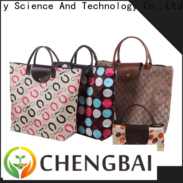Chengbai Custom eco shopping bags company for packing