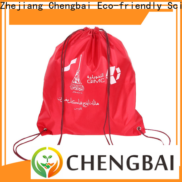 Chengbai trendy designs polyester reusable bags Suppliers for daily necessities