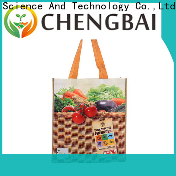 Chengbai New pp woven bags recycling factory for packing