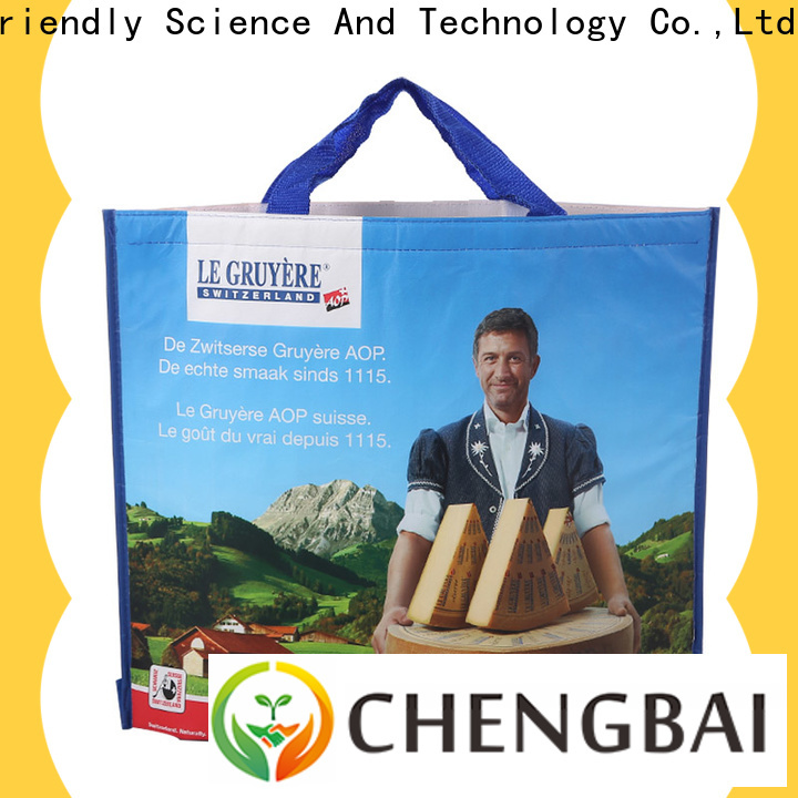 Top non woven cooler bag laminated source now for packing